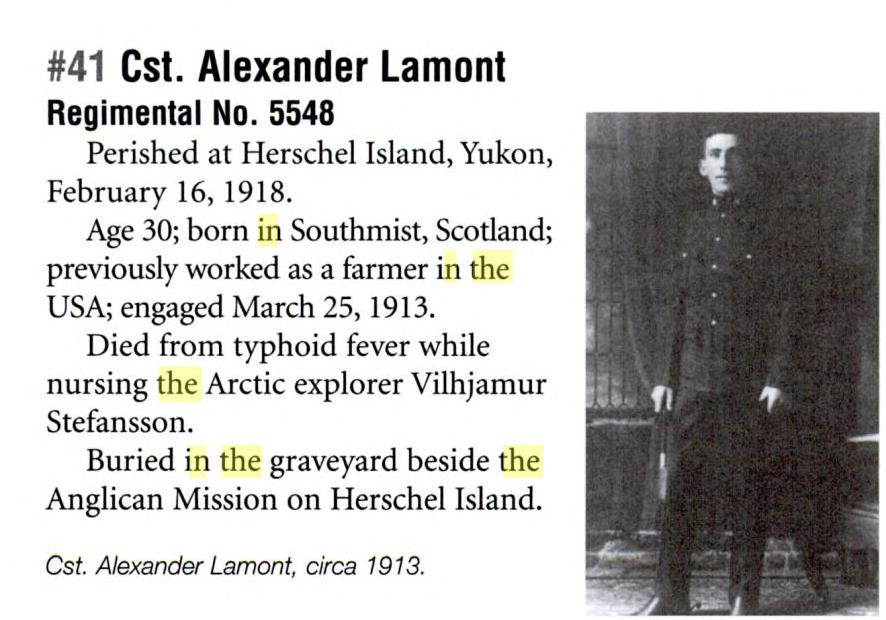 Photo of ALEXANDER LAMONT