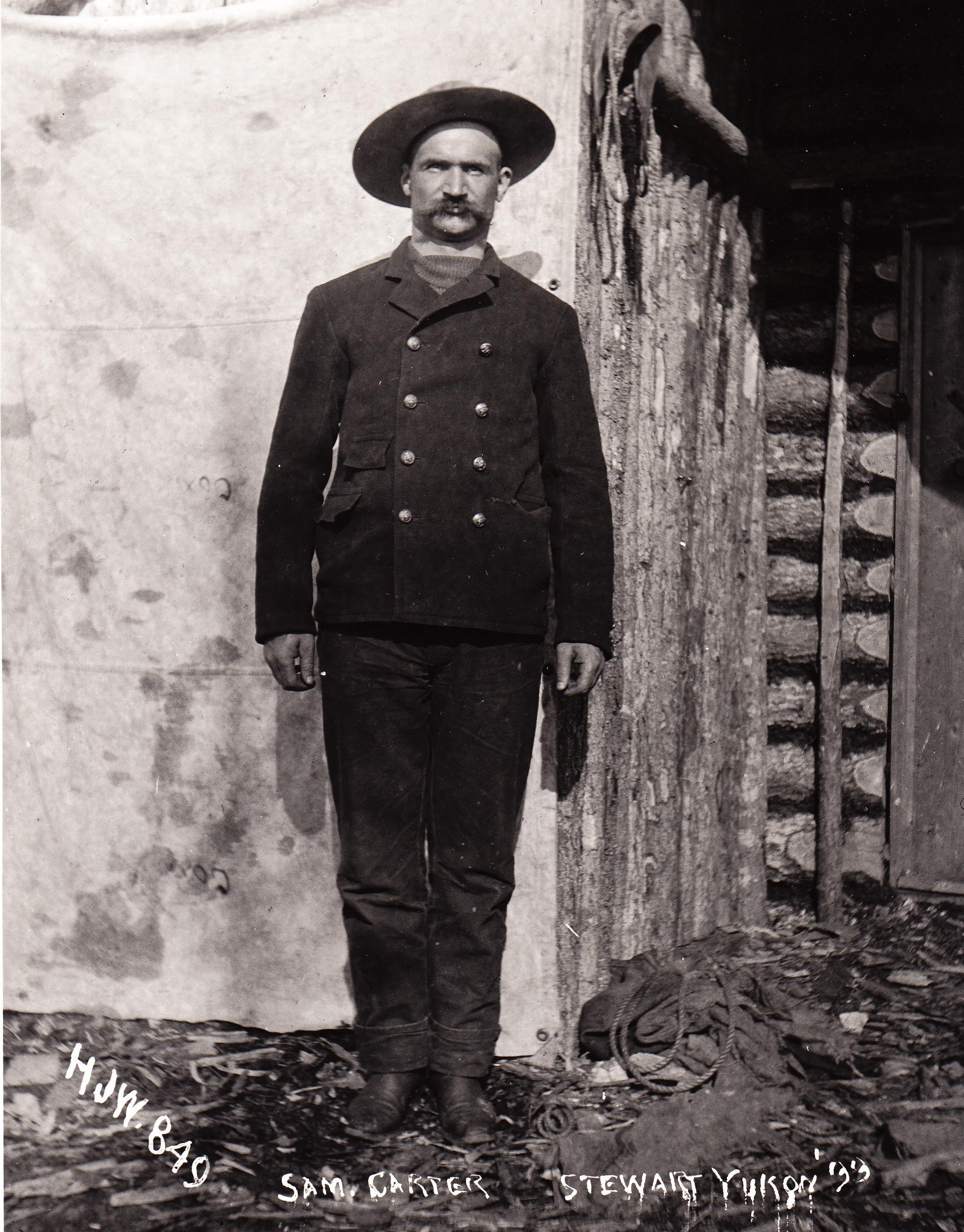 Photo of Samuel Carter– N.W.M.P