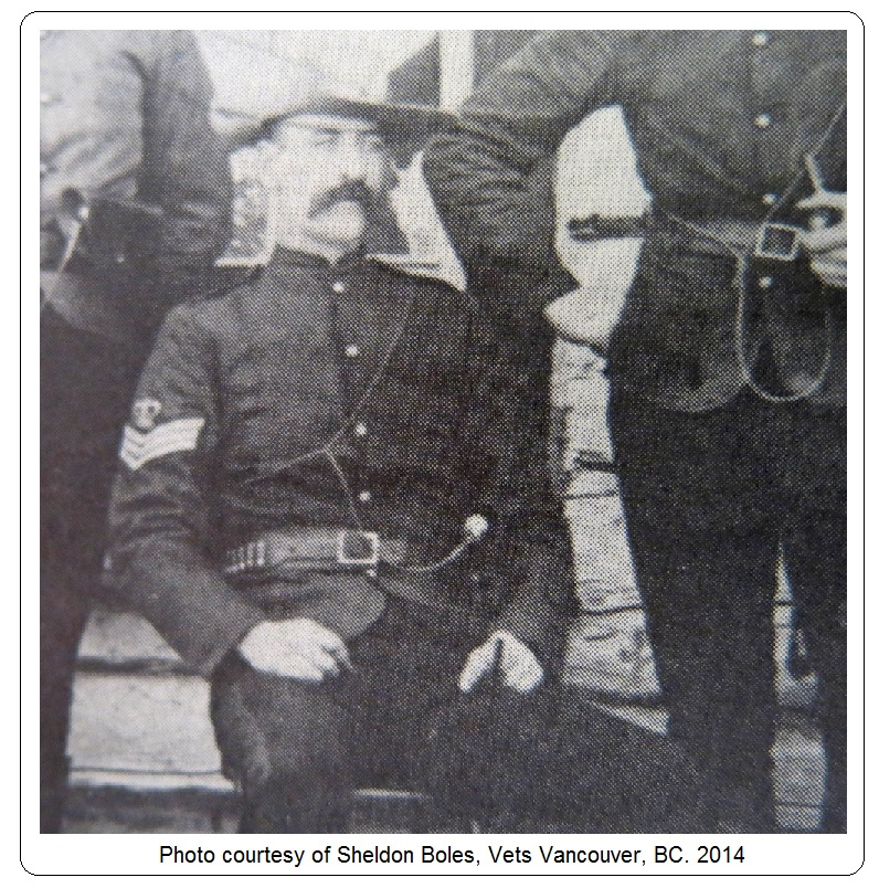 Sergeant William Brock Wilde– Photo courtesy of www.rcmpgraves.com