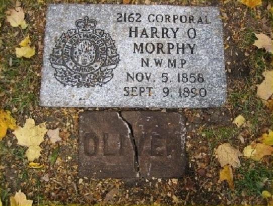 La plaque commémorative – Photo gracieuseté de www.rcmpgraves.com