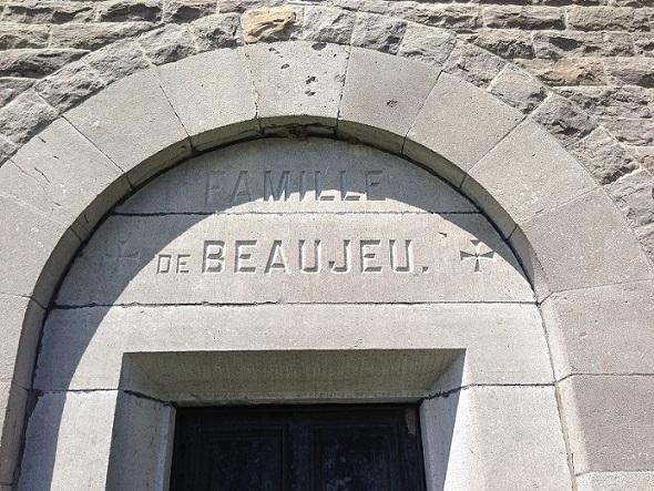 De Beaujeu Family Mausoleum– Photo courtesy of www.rcmpgraves.com