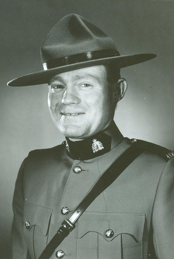 Photo of George Ronald Hawkins– © Her Majesty the Queen in Right of Canada as represented by the Royal Canadian Mounted Police
