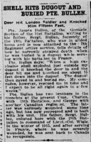 Newspaper Clipping– Charles is mentioned in this write-up about his brother. Submitted for the project, Operation Picture Me