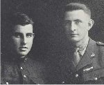 """Portrait of the Thomson brothers– Portrait of the Thomson brothers.  Source: William Perkins Bull. """"From Brock to Currie: the military development and exploits of Canadians in general and of the men of Peel in particular, 1791 to 1930.""""  Toronto, 1935."""