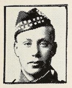 Photo of NORMAN EDDY BARCLAY– Photo from the National Memorial Album of Canadian Heroes c.1919. In memory of the members of the 15th, 92nd and 134th Battalions (48th Highlanders) who went to war and did not return. Submitted for the project, Operation: Picture Me.