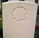 Grave Marker– Gravemarker of Private Frederick Arthur Bennett.