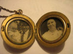Locket– In 1925 Sidney`s wife Christina received, from the war department, a locket that had been found on the battlefield. Inside it was a picture of her and the words Baby Bevan inscribed on the back. Submitted for the project, Operation: Picture Me