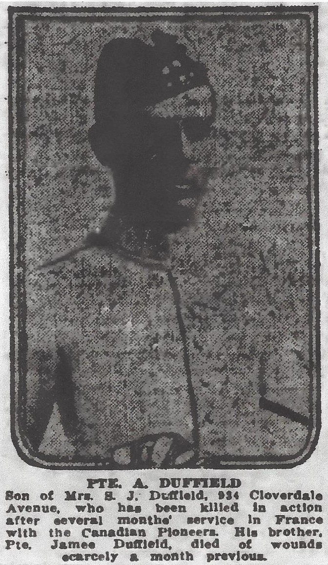 Photo of ARCHIBALD DUFFIELD