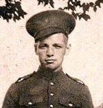 Photo of Private Daniel Allan Dunoon