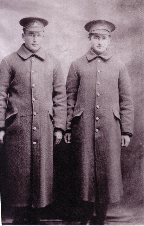 Photo of Henry Kostuk and John Kostuk
