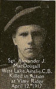 Photo of Alexander McDougall