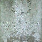 Gravemarker– La Chaudiere Cemetary, Vimy, France