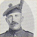 Photo of Valentine Robbins– Pte. Valentine Robbins correction:he was with the 219th Btn as well, and it was the Nova Scotia Highlanders, not the Manitoba Regiment.