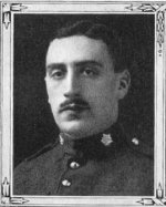 "Photo of Frank Mathers Spooner– Frank M. Spooner, as a member of the Trinity Methodist Church in Toronto, was remembered in the roll of honour in the ""Trinity War Book"". This book  was published by the church in 1921."
