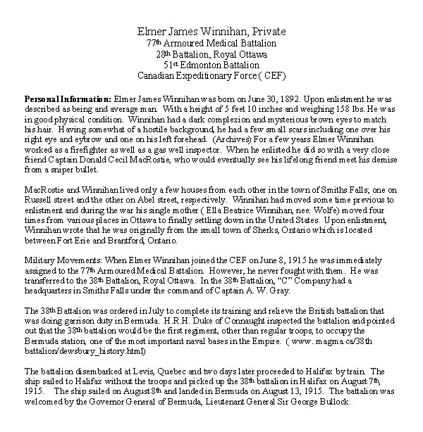 Biography - page 1