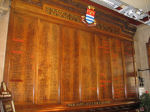 Roll of Honour– The Roll of Honour inside the Town Hall, Burton-on-Trent.