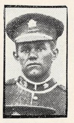 Photo of FREDERICK JOHN GORDON– Photo from the National Memorial Album of Canadian Heroes c.1919. Submitted for the project, Operation: Picture Me.