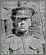 Photo of Alfred Hackett– Pte. Alfred Hackett's photo appeared in the Toronto Star on September 8th, 1915, as part of a group photograph of men in training at Niagara Camp.