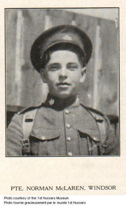 Photo of Norman McLaren
