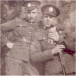 Photo 2 of Frederick Harold Mills– Frederick Harold Mills (on the right) with unknown soldier.