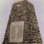 The Stanstead Quebec War Memorial.– The Stanstead Quebec War Memorial.  Stanstead is on the Canada/US border  (state of Vermont).  For World War One, thirty-six men from Stanstead or  from nearby communities are remembered on this war memorial.