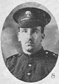 Photo of George Munns– In memory of the men who served with the 87th Battalion CEF. Submitted for the project, Operation: Picture Me