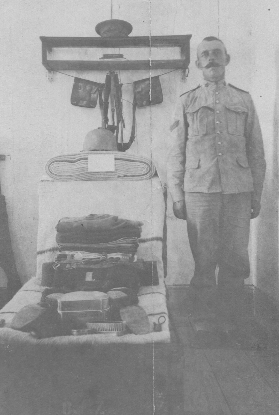 Photo of Henry Taylor– Kit Inspection