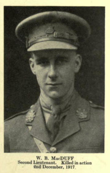Photo of WILLIAM BROWN MACDUFF– In memory of the employees from the Canadian Bank Of Commerce (CIBC) who went to war and did not return. Submitted for the project, Operation: Picture Me
