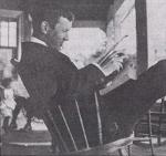 La lecture – La lecture était l'un des passe-temps préférés de John McCrae. (photo : Maison McCrae)
