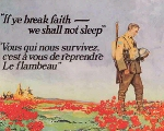 The Flower of Remembrance– Before he died, John McCrae had the satisfaction of knowing that his
