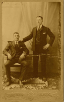 Photo of FRANK WHITALL– One of the men pictured is Frank Whitall. Which one is unknown. Submitted for the project, Operation Picture Me
