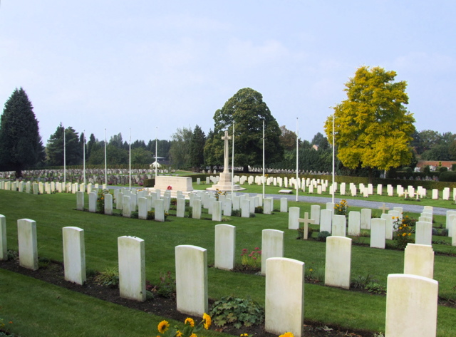 Cemetery– A general view of the cemetery where he is buried.