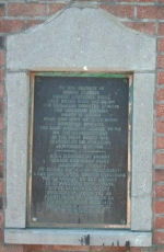 Memorial– The Price Memorial at Ville Sur Haine, Mons where he was killed 11th Novemeber 1918