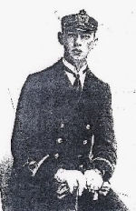 Photo of Charles Robert R. Hickey– Major Charles Robert Reeves Hickey in RAF Uniform. (Photograph courtesy of Vancouver Island Military Museum Society).