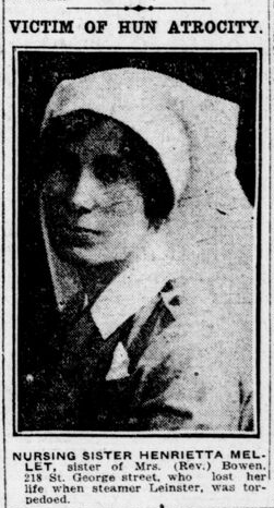 Newspaper clipping– From the London Free Press October 1918. Submitted for the project Operation Picture Me