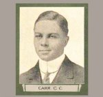 """Photo of Charles Clifton Carr– From """"The War Book of Upper Canada College"""", edited by Archibald Hope Young, Toronto, 1923.  This book is a Roll of Honour including former students who served during the First World War."""