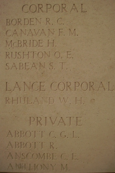 Inscription– Inscription on the Menin Gate … photo courtesy of Marg Liessens