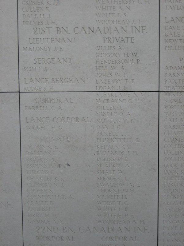 Mémorial de Menin Gate