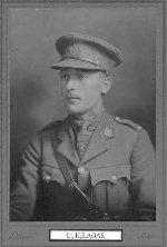 Photo of Harold E. Agar– Lt. Harold Agar