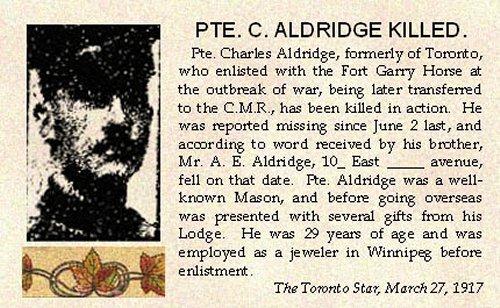 Photo of Charles Augustus Aldridge