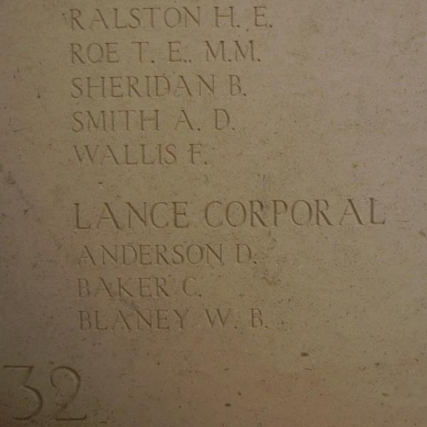 Inscription– Inscription on the Menin Gate, photo courtesy of Marg Liessens.