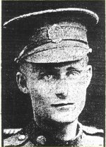 Newspaper Clipping– The paper misprinted Lance Corporal Anderson's middle initial.