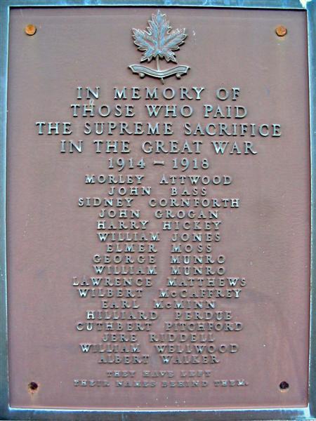 Caledon East War Memorial