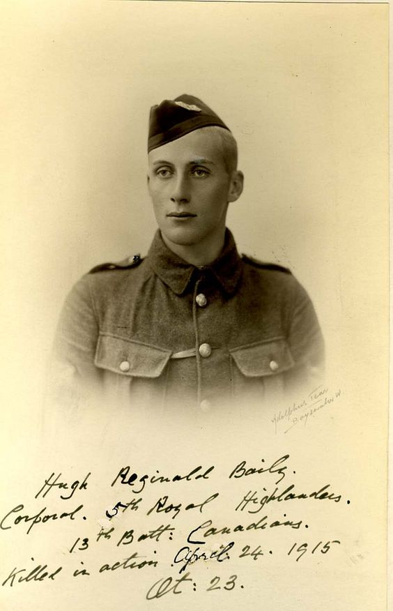 Photo of HUGH REGINALD BAILY– Submitted of the project, Operation Picture Me.