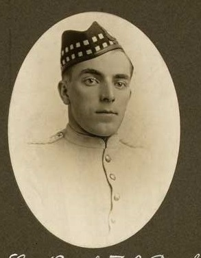 Photo of Thomas Barker– Photograph extracted from 'Eaton's Goes to War' and submitted by BGen G Young 15th Battalion CEF Memorial Project. Dileas Gu Brath