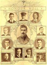 Tableau d'honneur – Tableau d'honneur du Varsity War Supplement, de l'Université de Toronto, Juillet 1915.