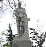 Milton Ontario War Memorial– Names listed on the Milton Ontario War Memorial.