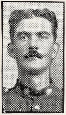 Photo of EVERELL MOORE BICKERSTAFF– Photo from the National Memorial Album of Canadian Heroes c.1919. Submitted for the project, Operation: Picture Me.