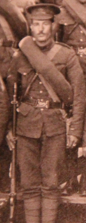 Photo of Reginald Boreham– Served with the 35th Battalion CEF. Submitted for the project, Operation: Picture Me