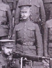 Photo of Robert Burns– Served with the 35th Battalion CEF. Submitted for the project, Operation: Picture Me